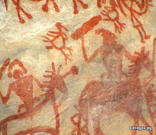 рисунки каменном наскальные веки в